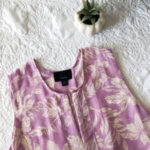 lumiere printed tank top
